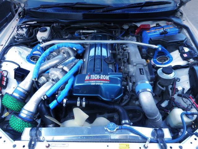 2JZ-GTE TWINTURBO ENGINE VVTi