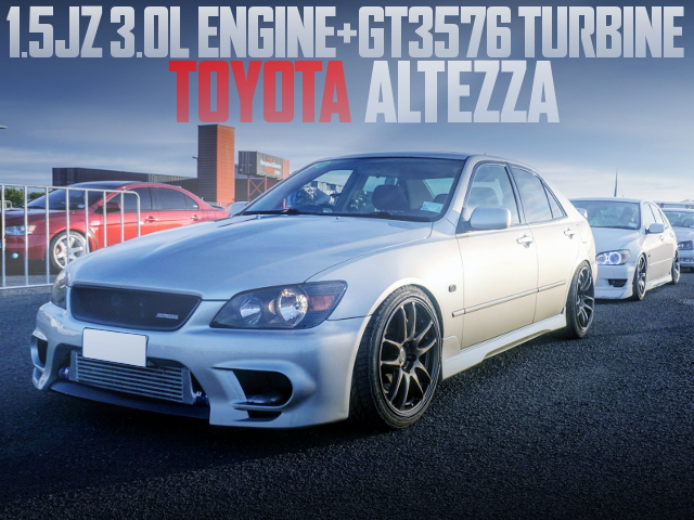 15JZ ENGINE WITH GT3576 TURBO INTO ALTEZZA