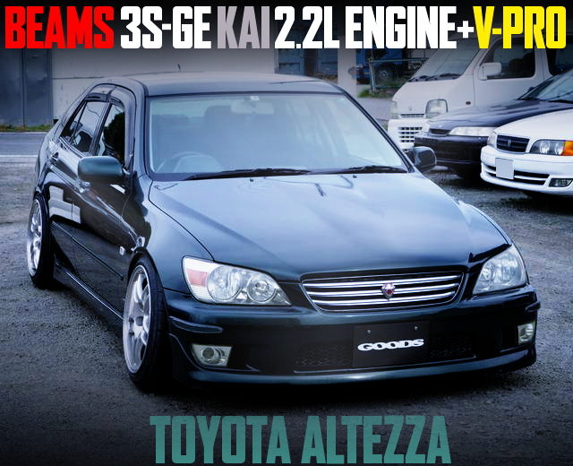 BEAMS 3SGE 2200cc ENGINE ALTEZZA