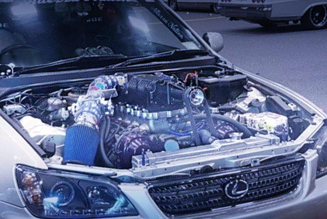 SUPERCHARGED 1UZ V8 ENGINE