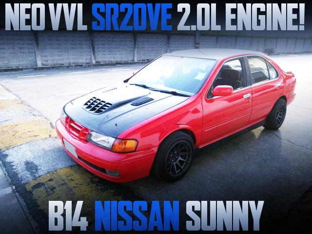 NEO VVL SR20VE ENGINE B14 SUNNY