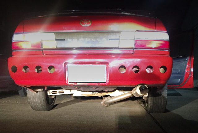 REAR BUMPER DUCT CUSTOM