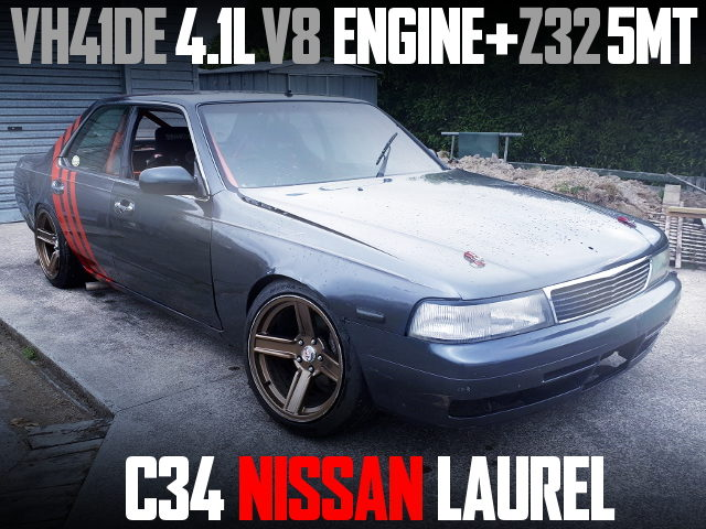 VH41DE V8 ENGINE SWAP C34 LAUREL