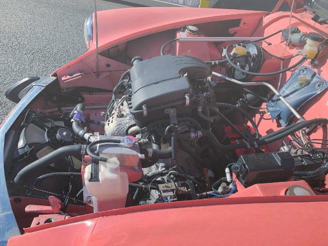 1KR ENGINE SWAP CITROEN ENGINE ROOM