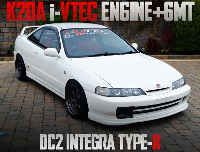 K20A iVTEC ENGINE WITH 6MT DC2 INTEGRA TYPE-R