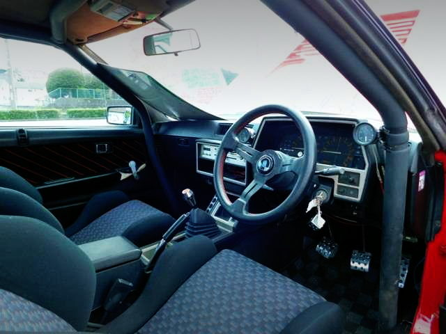 INTERIOR FROM DR30 SKYLINE