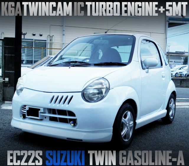 K6A TWINCAM TURBO ENGINE INTO EC22S SUZUKI TWIN