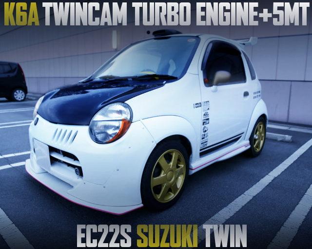 K6A TWINCAM TURBO ENGINE SWAP SUZUKI TWIN