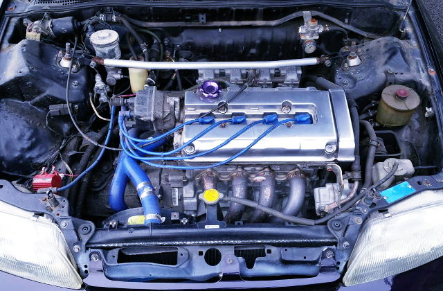 FCR CARBs ON B18C VTEC ENGINE