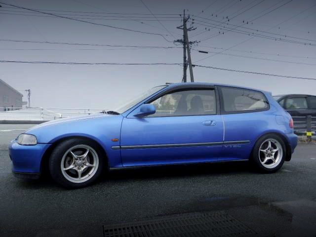 SIDE EXTERIOR EG6 CIVIC SiR2