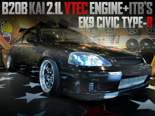 B20B 2100cc VTEC ENGINE WITH AE111 ITB FOR EK9 CIVIC TYPE-R