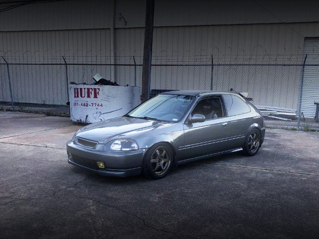 FRONT EXTERIOR EK CIVIC HATCH