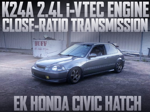 K24A iVTEC ENGINE EK CIVIC HATCH
