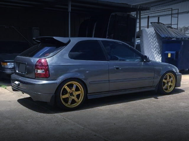 REAR EXTERIOR EK CIVIC GRAY