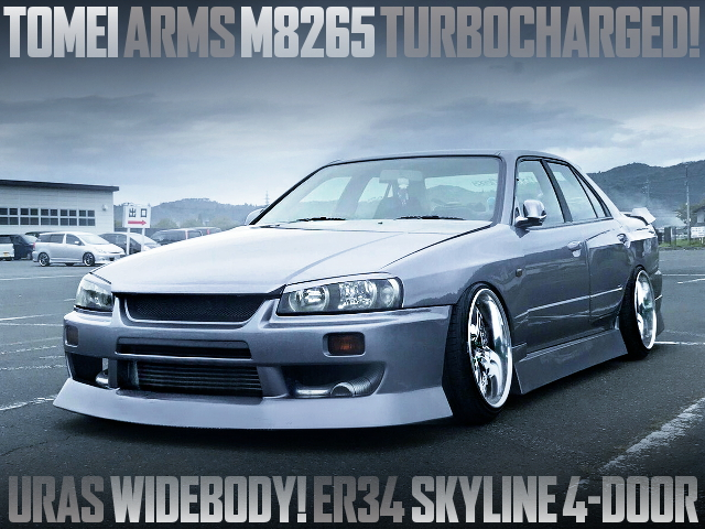 ARMS M8265 TURBO R34 SKYLINE 4-DOOR URAS WIDEBODY