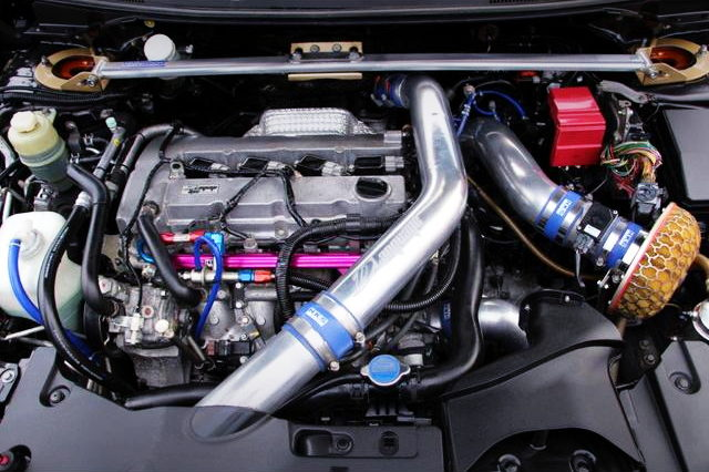 4B11 TURBO ENGINE