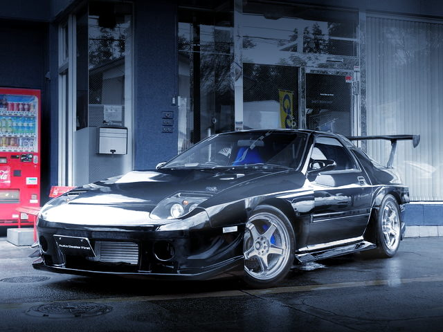 FRONT EXTERIOR WIDEBODY FC3S RX7