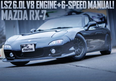 LS2 V8 ENGINE WITH 6MT INTO FD RX7
