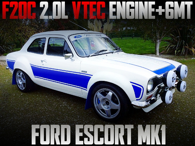 F20C VTEC ENGINE 6MT FORD ESCORT MK1