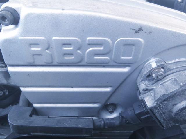RB20 ENGINE LOGO