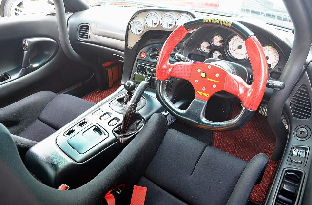 FD3S RX7 INTERIOR DASHBOARD
