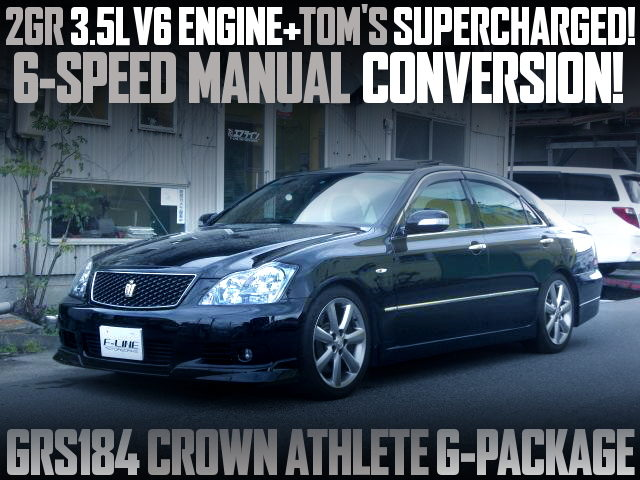 2GR SUPERCHARGER WITH 6MT GRS184 CROWN
