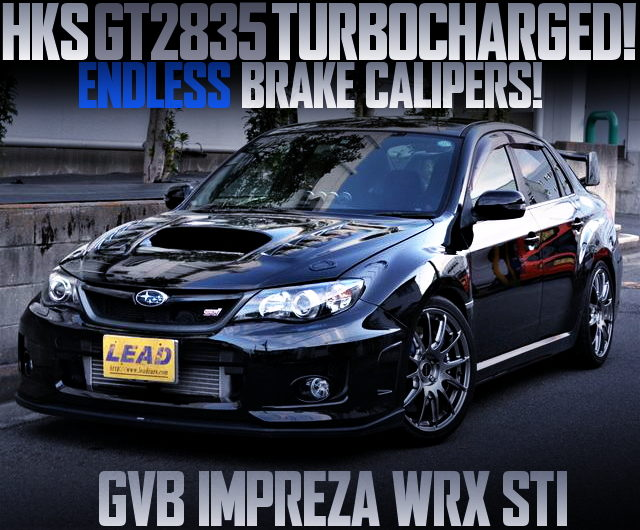 HKS GT2835 TURBO GVB IMPREZA WRX STI