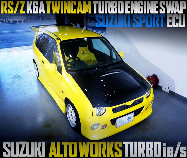 K6A TWICAM TURBO ENGINE SWAP HB11S ALTO WORKS