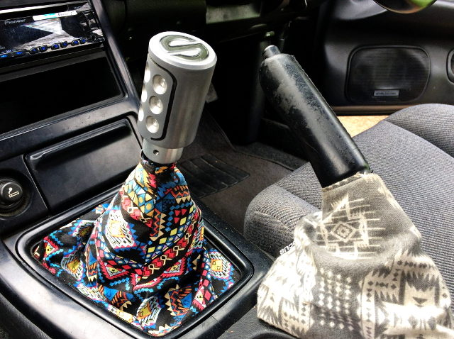 CUSTOM SHIFT BOOT