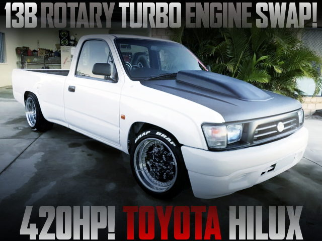 13B ROTARY TURBO ENGINE 6th Gen HILUX