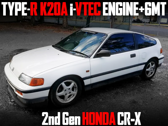 K20A iVTEC ENGINE WITH 6MT 2nd Gen CRX
