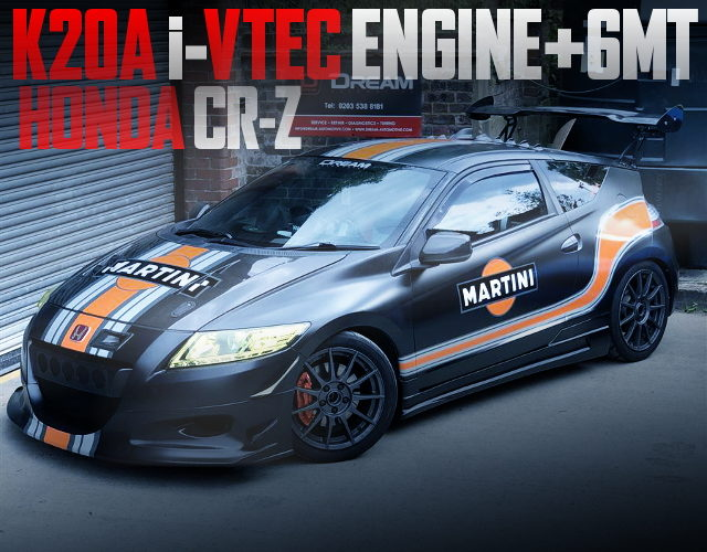 K20A iVTEC ENGINE 6MT HONDA CR-Z