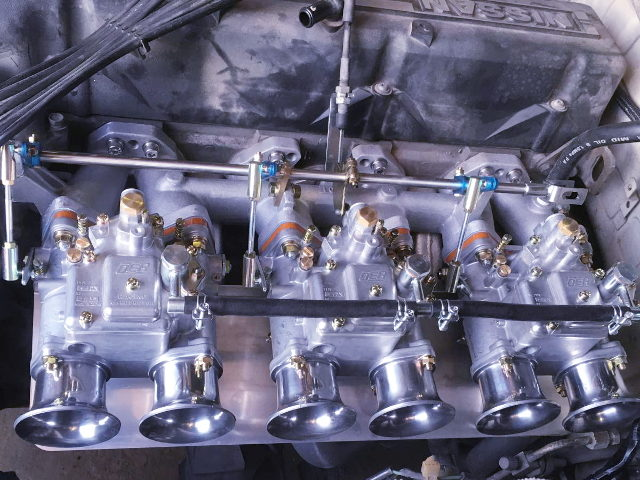 OER CARBURETOR ON L20 ENGINE