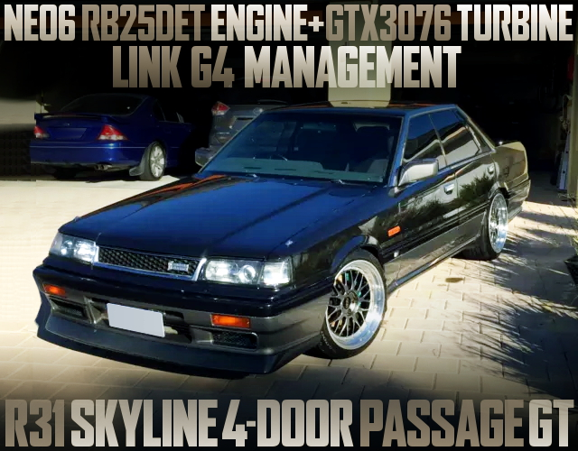 NEO6 RB25DET SWAP HR31 SKYLINE PASSAGE GT