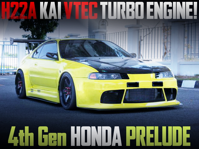 H22A VTEC TURBO AND WIDEBODY 4th Gen PRELUDE