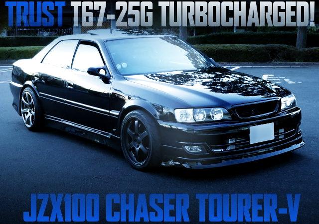 T67-25G TURBOCHARGED JZX100 CHASER TOURER-V