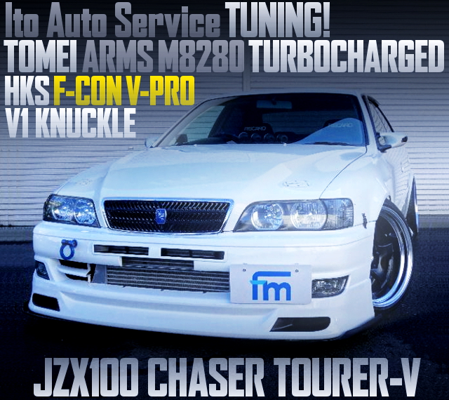ITO AUTO TUNING M8280 TURBO JZX100 CHASER TOURER-V