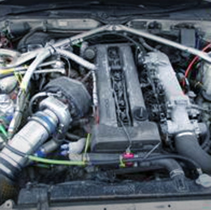 NON VVTi 1JZ ENGINE WITH SINGLE TURBO