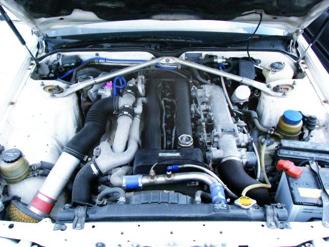 1JZ 2500cc TWIN TURBO ENGINE