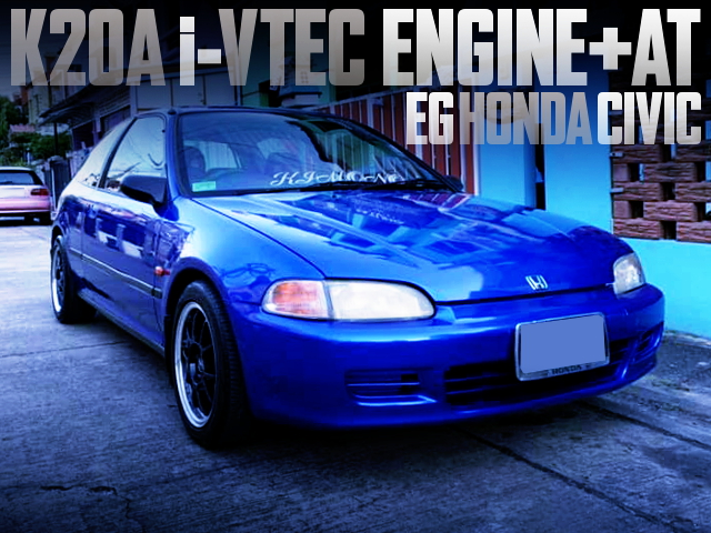 K20A iVTEC ENGINE INTO EG CIVIC