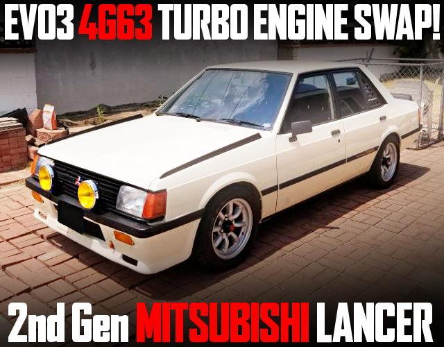 EVO3 4G63 TURBO ENGINE SWAP 2nd Gen LANCER EX