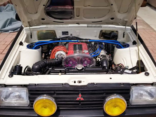 4G63 DOHC TURBO ENGINE