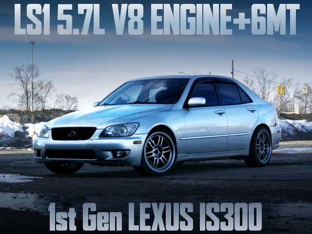 LS1 5700cc V8 ENGINE WITH 6MT INTO LEXUS IS300