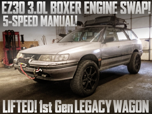 LIFTED SUBARU LEGACY WAGON