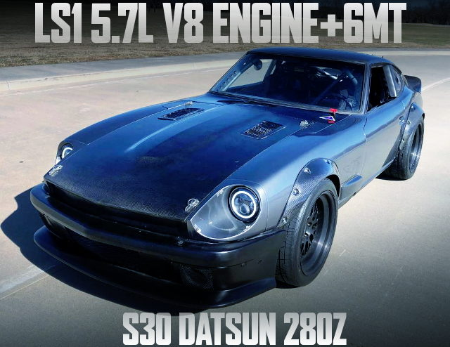 LS1 V8 ENGINE S30 DATSUN 280Z