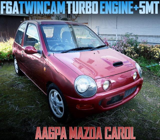 F6A TWINCAM TURBO ENGINE AA6PA MAZDA CAROL