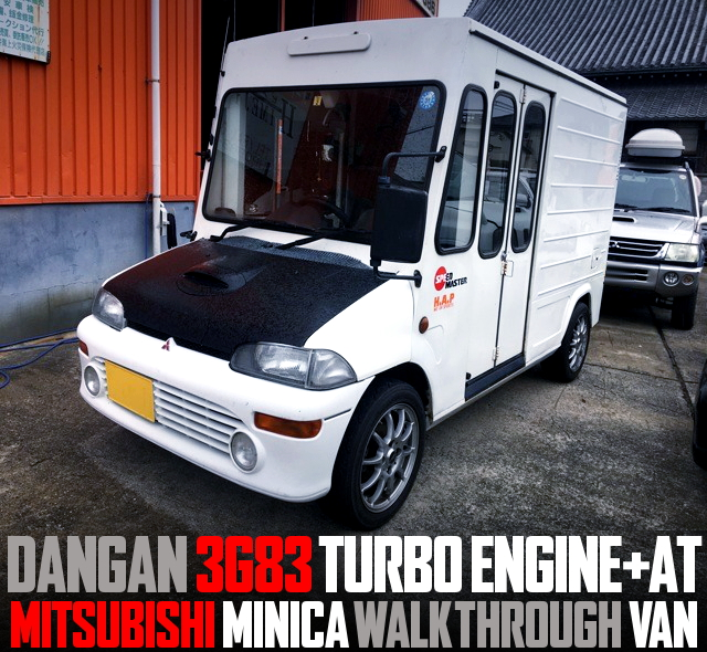 DANGAN 3G83 TURBO ENGINE MINICA WALK THROUGH VAN