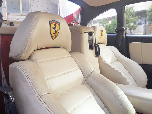 INTERIOR FERRARI REPLICA SEATS