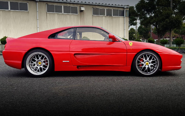 SIDE EXTERIOR FERRARI F355 REPLICA SW20 MR2