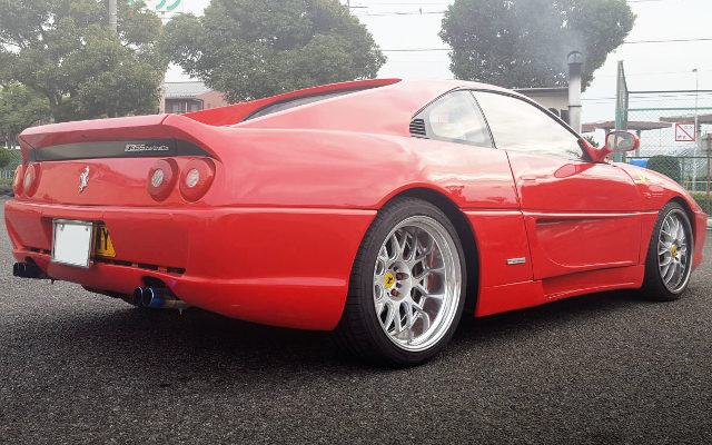 REAR EXTERIOR FERRARI REPLICA SW20 MR2